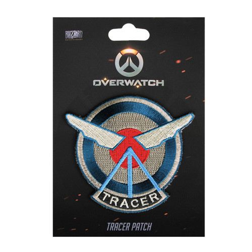 Overwatch Embroidered Patch Tracer (7cm In Size) - Gaming Merchandise