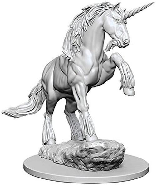 Pathfinder Battles Deep Cuts Unpainted Miniatures W1 Unicorn (Pack of 6)