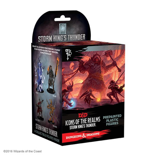 D&D Icons of the Realms Storm King's Thunder single Booster (Pack of 8)