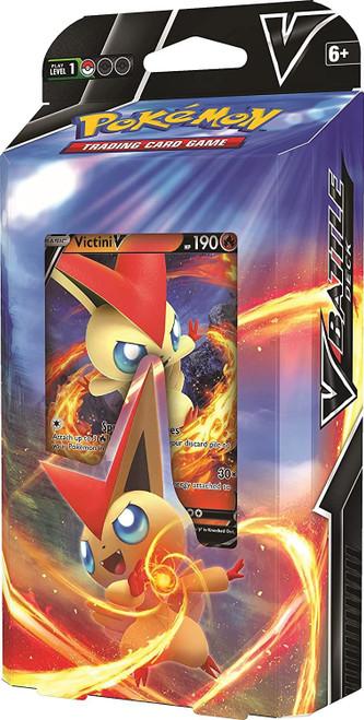 Pokemon TCG Victini V - Gardevoir V Battle Deck In Display Box (Pack of 8)