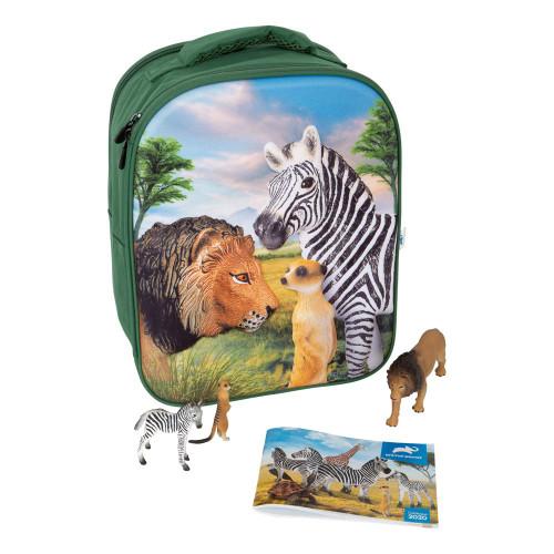 Animal Planet Mojo Wildlife 3D Backpack Playset Multi-colour (387725)