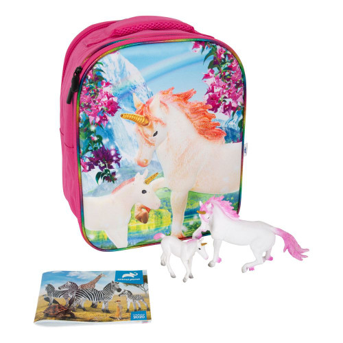 Animal Planet Mojo Unicorn Fantasy 3D Backpack Playset Multi-colour (387726)
