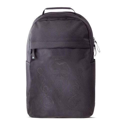 Assassins Creed Valhalla Tribal Face with Puff Print Backpack Unisex - Black