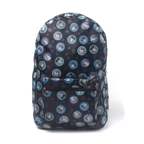Disney Mickey Mouse & Friend's All-over Pattern Print Backpack Multi-colour