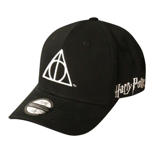 Harry Potter Wizards Unite Deathly Hallows Symbol Adjustable Baseball Cap Black