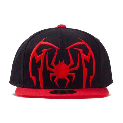Spider-Man Spider Arch Logo Snapback Baseball Cap - Black/Red (SB100583SPN)