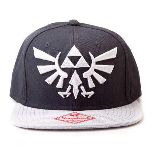 Nintendo Zelda Princess Embroidered Royal Crest Logo Snapback Baseball Cap