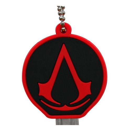 Assassin's Creed Crest Keycover - Red/Black (ABYKCO004)