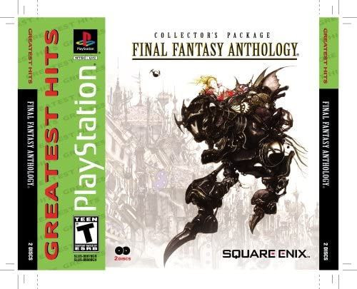 Final Fantasy Anthology PS1 Game