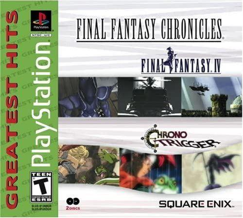 Final Fantasy Chronicles Final Fantasy IV & Chrono Trigger PS1 Game