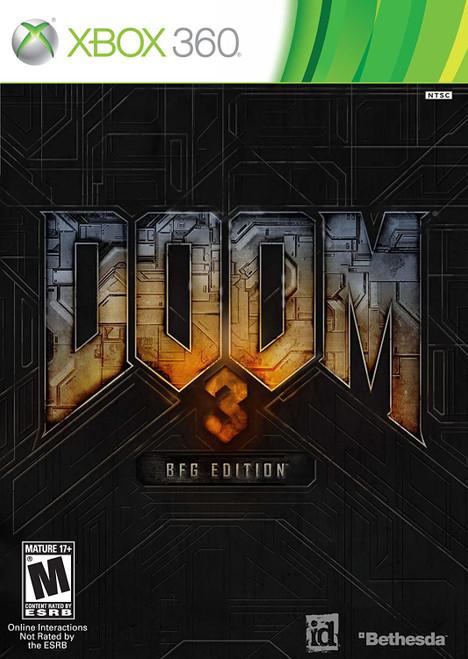 Doom 3 BFG Edition Xbox 360 Game