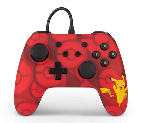 PowerA Wired Controller Pikachu For Nintendo Switch