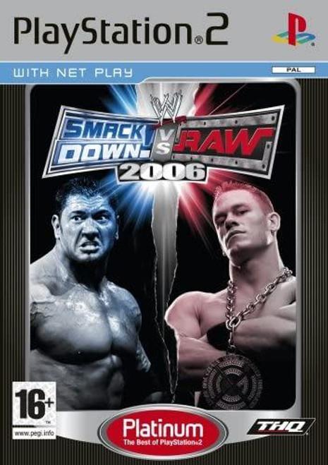 WWE SmackDown Vs. RAW 2006 Platinum PS2 Game (Italian Box)