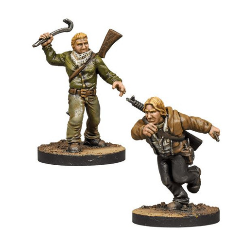 Aaron & Eric Booster - The Walking Dead All Out War