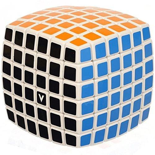 V-Cube 6 x 6 White Pillow Toy