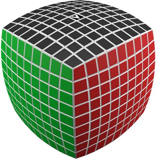 V-Cube 9 x 9 White Pillow Toy