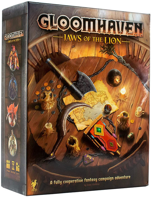 Gloomhaven - Jaws of the Lion Board Game