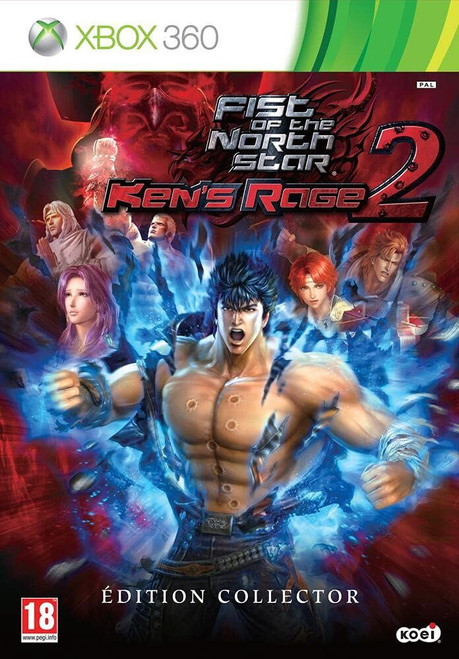 Fist of the North Star Kens Rage 2 - Collector's Ed Xbox 360 Game (Italian Box)