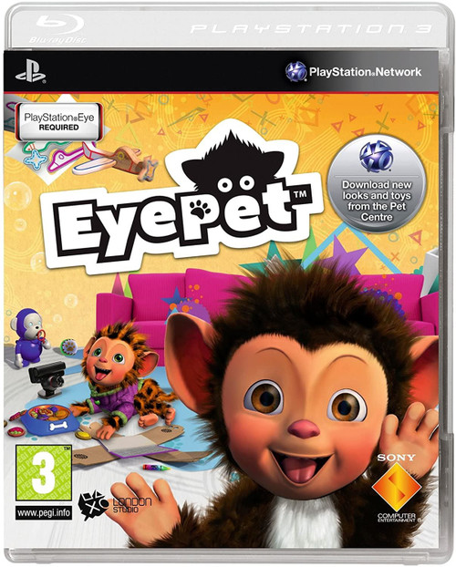 EyePet Solus PS3 Game