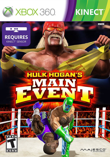 Hulk Hogan's Main Event - Kinect Xbox 360 Game
