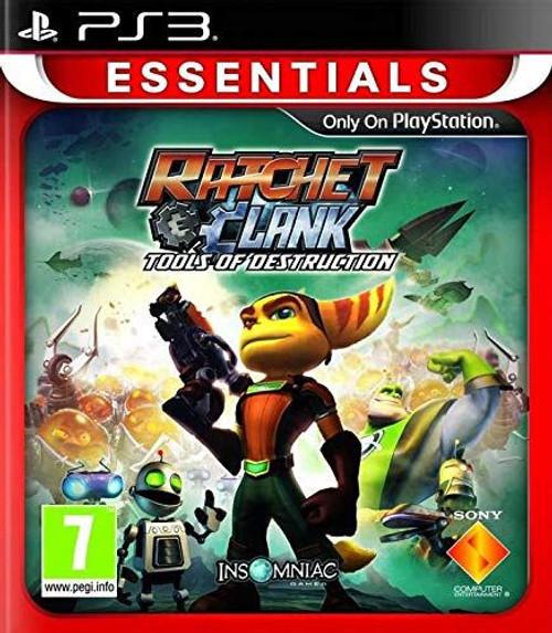 Ratchet & Clank Future Tools Of Destruction Essentials Edition PS3 Game