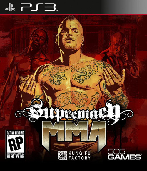 Supremacy MMA PS3 Game