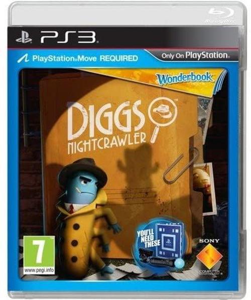Wonderbook Diggs Nightcrawler Move PS3 Game (English/Arabic/Box)