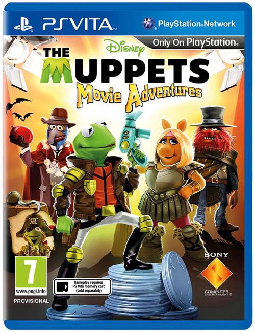 Muppets Movie Adventures Vita Game (English/Arabic/Greek Box)