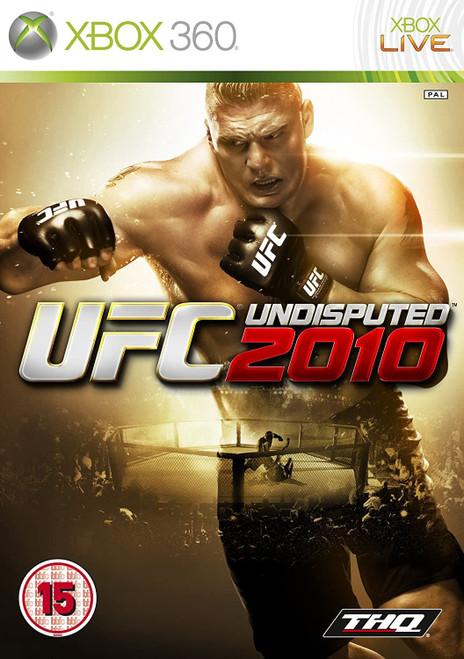 UFC Undisputed 2010 Xbox 360 Game