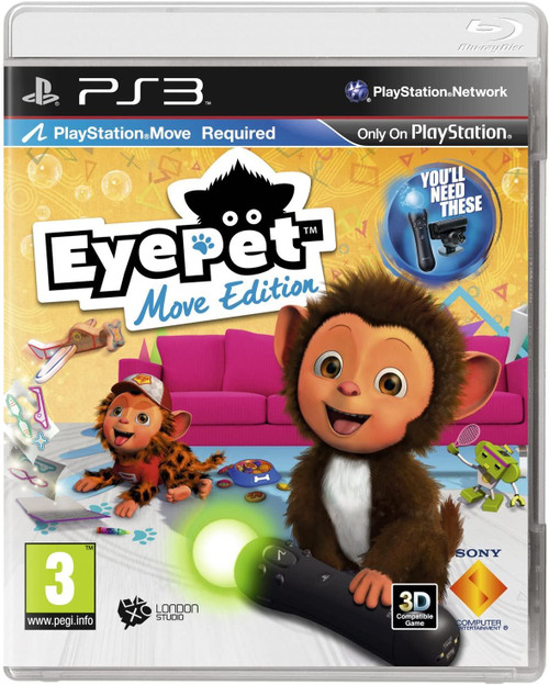 Eyepet Move Edition PS3 Game (Move Required)