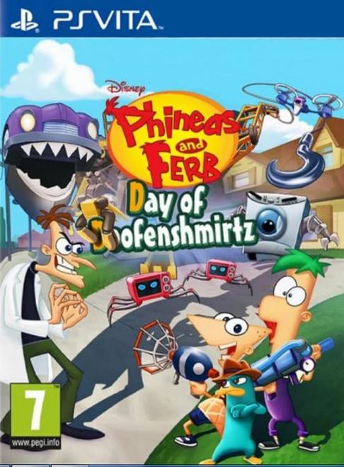 Phineas & Ferb Day Of Doofenshmirtz PS Vita Game (English/Arabic/Greek Box)