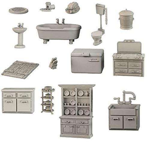 TerrainCrate Bathroom & Kitchen Miniatures