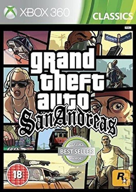 Grand Theft Auto San Andreas Classics Xbox 360 Game