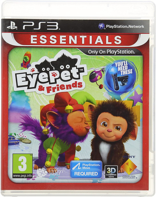 EyePet & Friends Essentials Edition PS3 Game