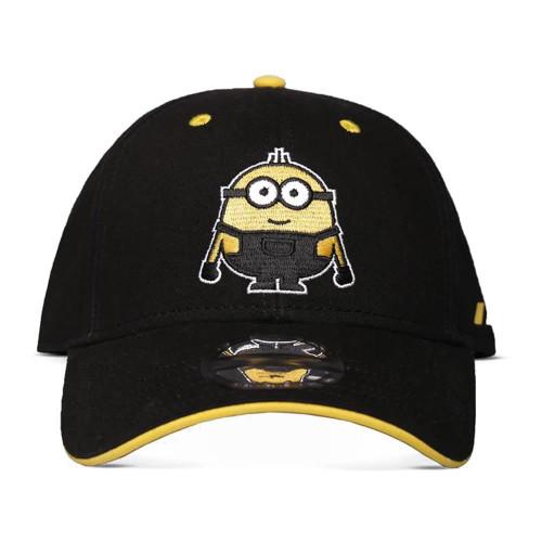 Minions Stuart Adjustable Cap - Black/Yellow (BA448201DSP)