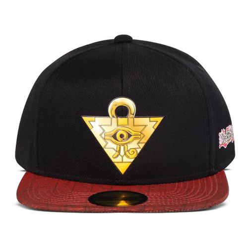 Yu-Gi-Oh! Puzzle Logo Snapback Baseball Cap - Black/Red (SB880710YGO)