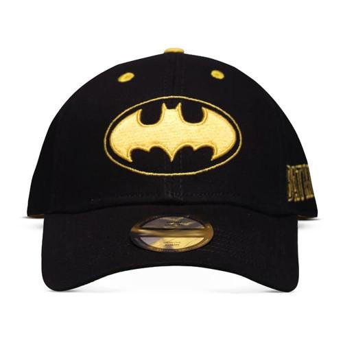 Dc Comics Batman Core Logo Curved Bill Cap - Black (BA730176BTM)
