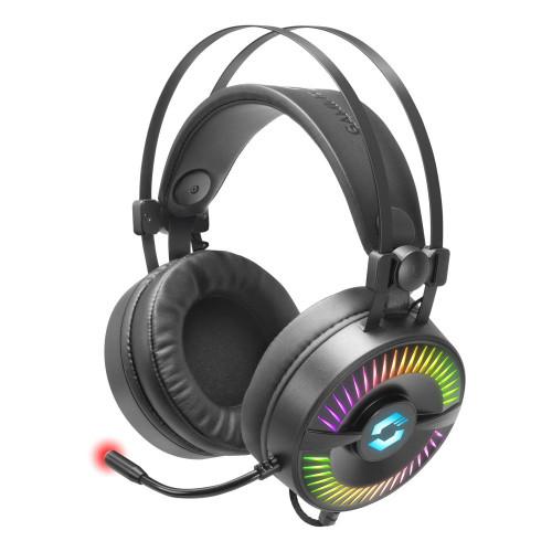 Speedlink Quyre RGB 7.1 Surround Sound PC Gaming Headset Black (SL-860006-BK)