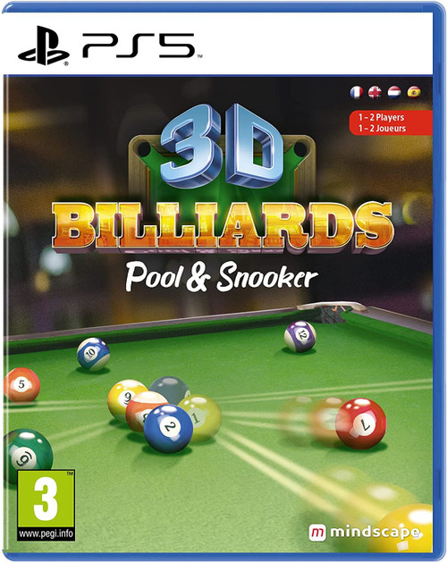 3D Billiards Pool & Snooker PS5 Game