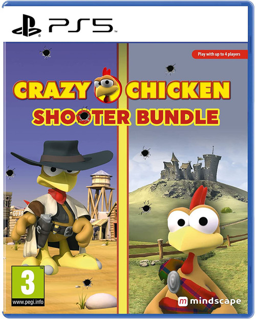 Crazy Chicken Shooter Edition PS5 Game