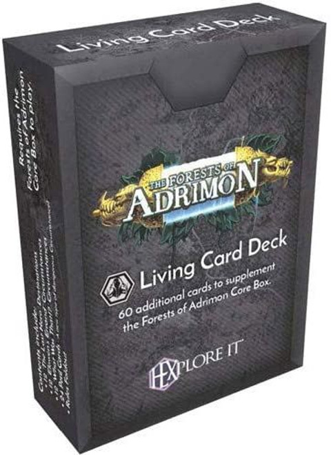 HEXplore It The Forests of Adrimon Living Card Deck