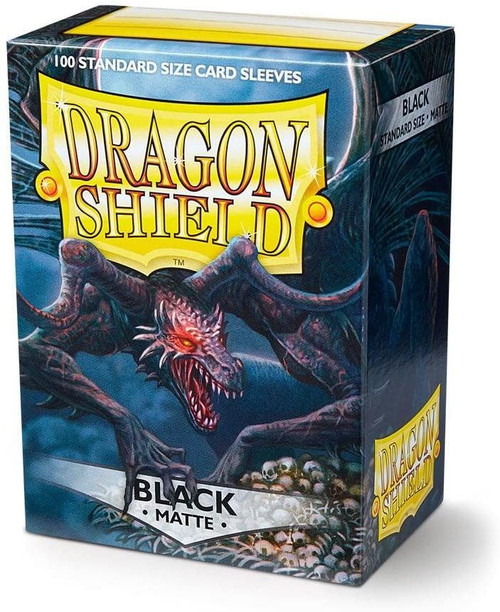 Dragon Shield Matte - Black (100 ct. In Box)