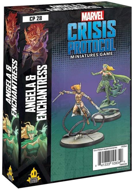 Marvel Crisis Protocol Angela and Enchantress