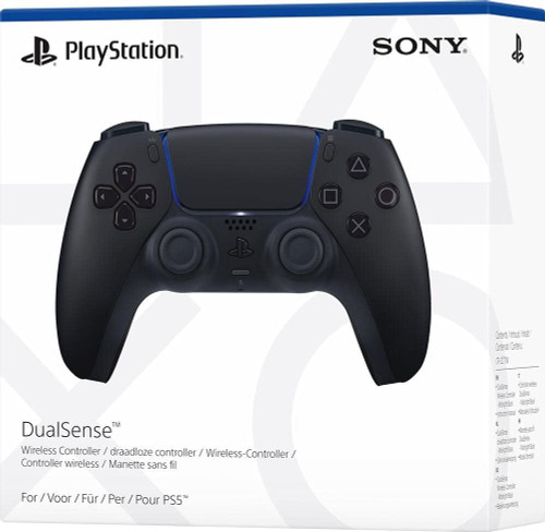 Official Sony PlayStation DualSense PS5 Controller - Midnight Black