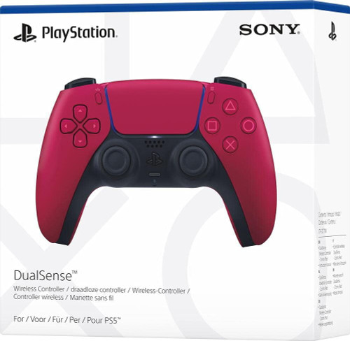 Official Sony PlayStation 5 DualSense Controller PS5 - Cosmic Red