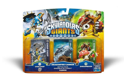 Skylanders Giants - Battle Pack - Cannon Wii/PS3/Xbox 360/3DS/Wii U