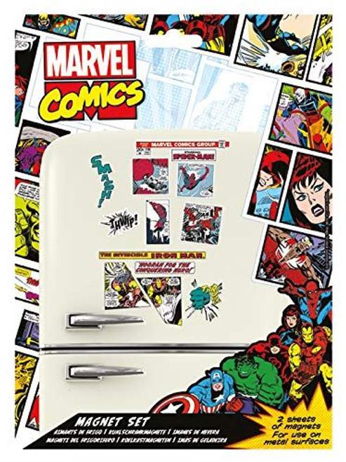 Marvel Comics MS65080 Retro Magnet Kit