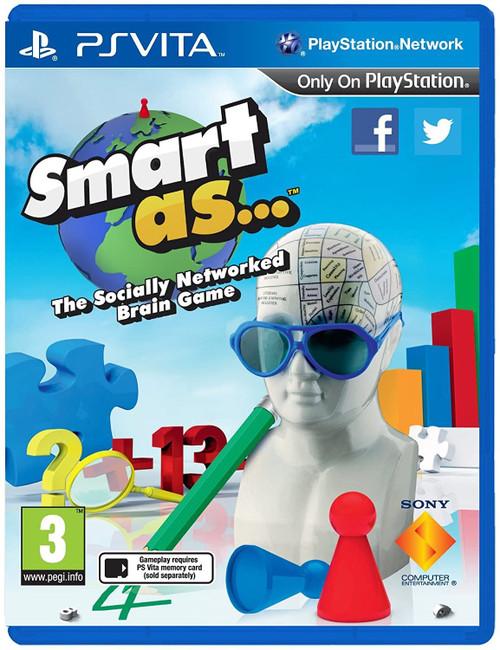 Smart As PS Vita Game (English/Arabic/Greek Box)