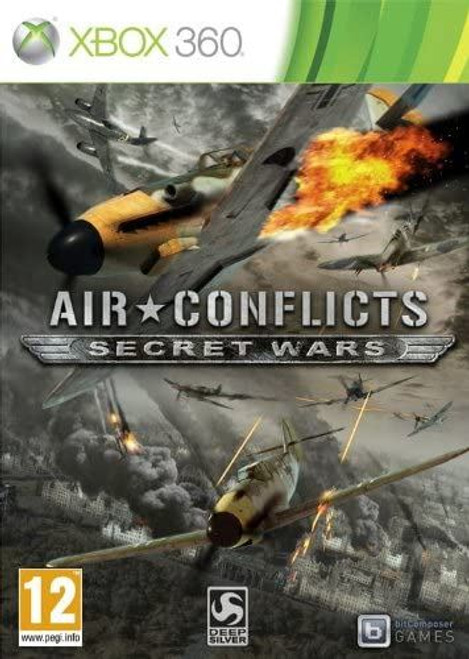 Air Conflicts Secret Wars Xbox 360 Game Game