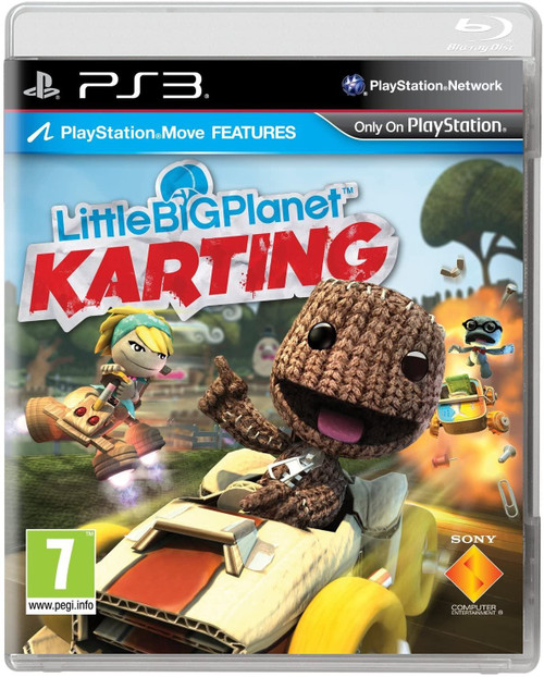 Little Big Planet Karting PS3 Game
